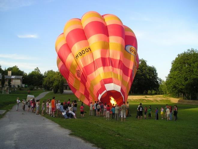 príprava balóna